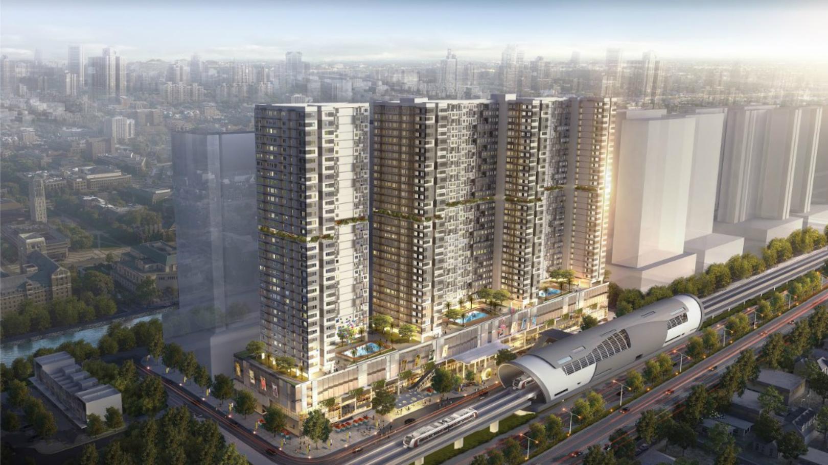 LRT City Bekasi - Green Avenue